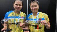 Video: Menang Mudah Dari Tuan Rumah, Greysia/Apriyani Juarai Thailand Open 2021