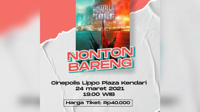 Godzilla vs Kong Tayang Perdana di Kendari Besok, Beli Tiketnya di Sini Aja Biar Enggak Ngantre