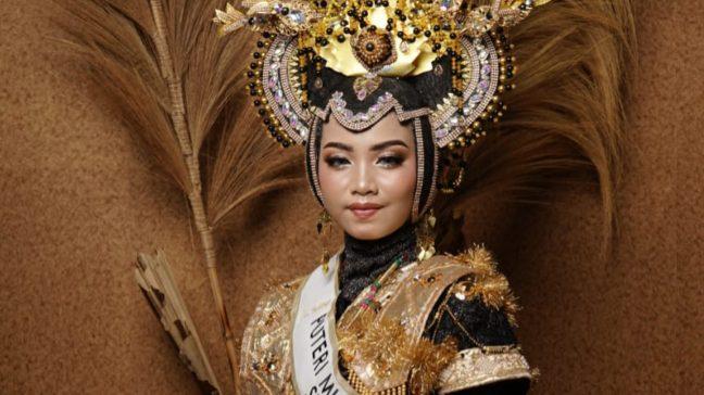 Mewakili Sultra di Ajang Putri Muslimah Nusantara, Wa Ode Syahribanun Masih Butuh Dukungan Masyarakat