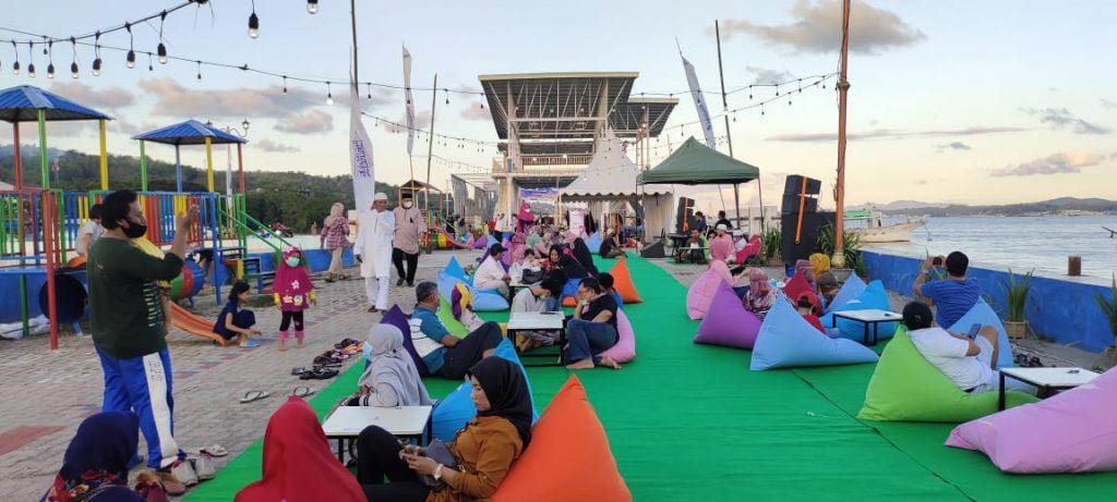 Suasana Festival Ramadan 2021 di Tambat Labuh.
