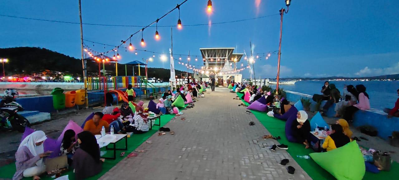 Festival Ramadan Berakhir, Ketua Kendari Preneur Komitmen Manfaatkan Tambat Labuh Jadi Pusat Kuliner