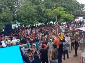 Video Viral Abaikan Prokes Covid-19 di Pantai Mutiara, Ini Penjelasan Dispar Buteng