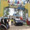 Hari Pertama Dibuka, Pantai Kalomang Kolaka Ramai Dipadati Pengunjung