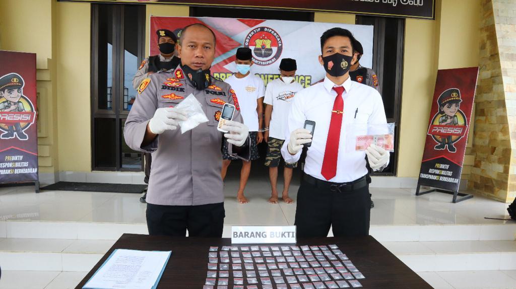 Miliki 91 Paket Sabu, Dua Pria di Kendari Berhasil Diringkus Polisi