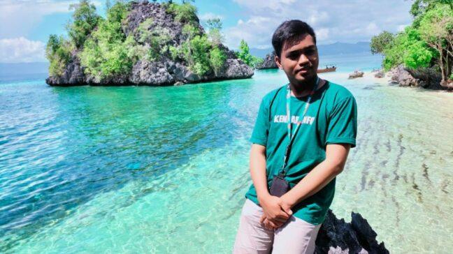 Intip Pesona Pulau Senja di Konsel