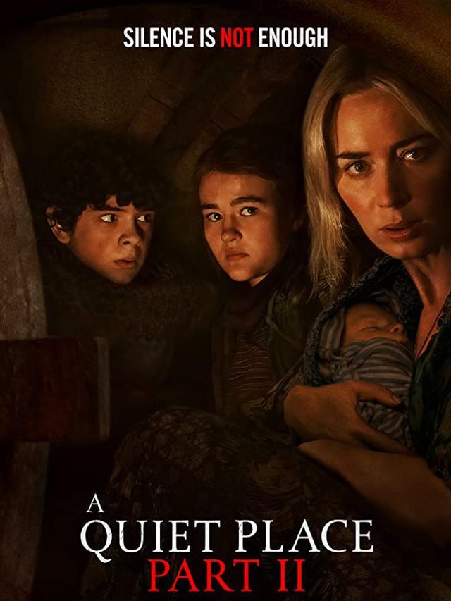 Poster film A Quiet Place Part II.