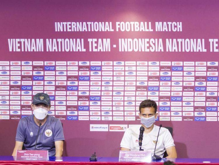 Jelang Kualifikasi Pildun Lawan Vietnam, Timnas Indonesia Siap Kerja Keras