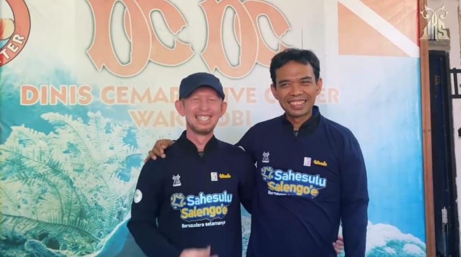 Safari Dakwah ke Wakatobi, Ustaz Abdul Somad Didaulat Jadi Duta Wisata Religi