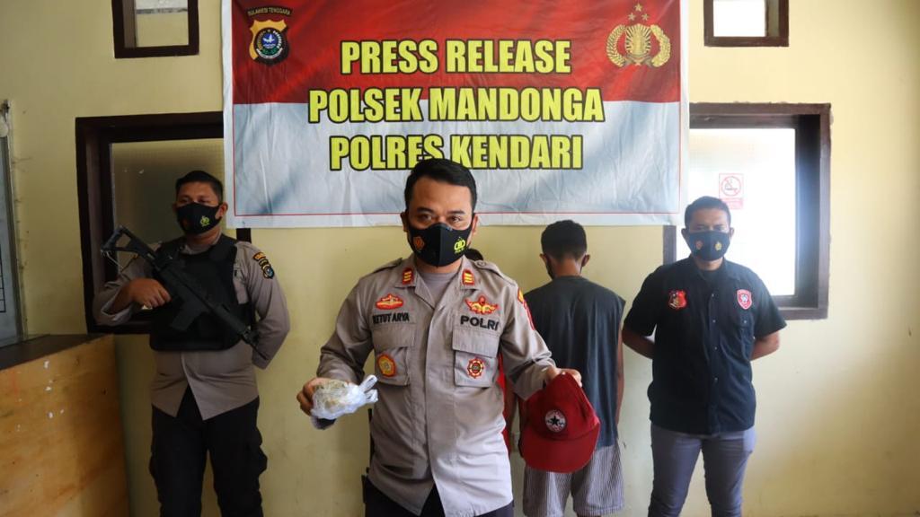 2 Pelaku Perusakan Mobil Anak Gubernur Sultra Ditangkap, Satu DPO