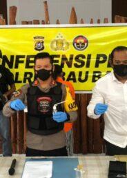 Konsumsi dan Miliki Sabu, Guru SD di Baubau Dibekuk Polisi
