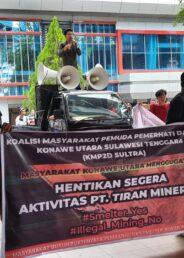 Koalisi Pemerhati Konut Tuntut Pembangunan Smelter PT Tiran Indonesia