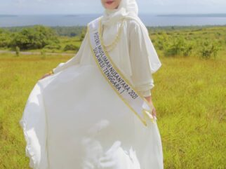 Selamat! Perwakilan Sultra Menang Jadi Puteri Muslimah Nusantara 2021