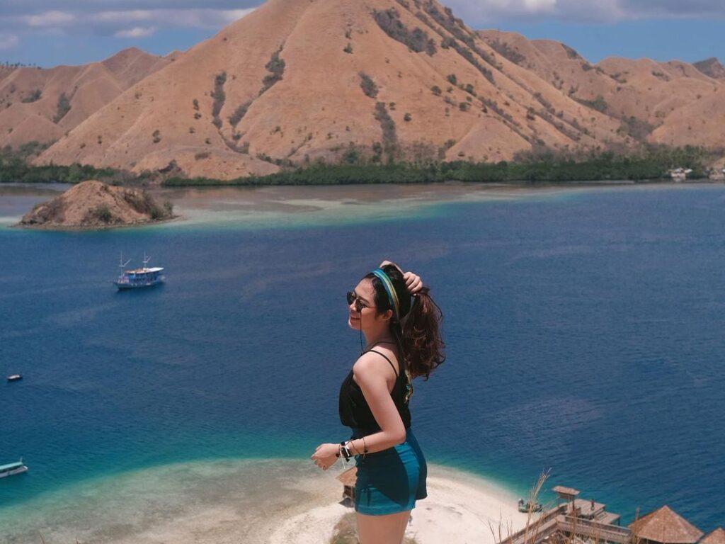 Naqia Amanda Putri saat berlibur di Labuan Bajo.