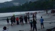 Video: Mahasiswa UHO Terseret Arus di Pantai Batu Gong, 1 Meninggal dan 2 Hilang