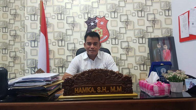 Kasat Reskrim Polres Muna, Iptu Hamka.