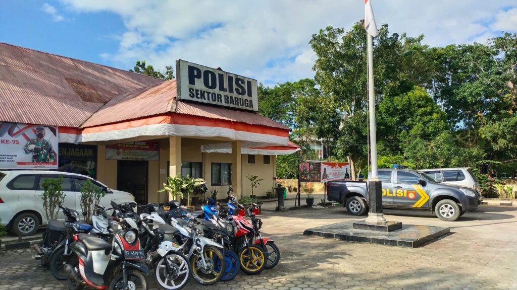 Kantor Polsek Baruga.