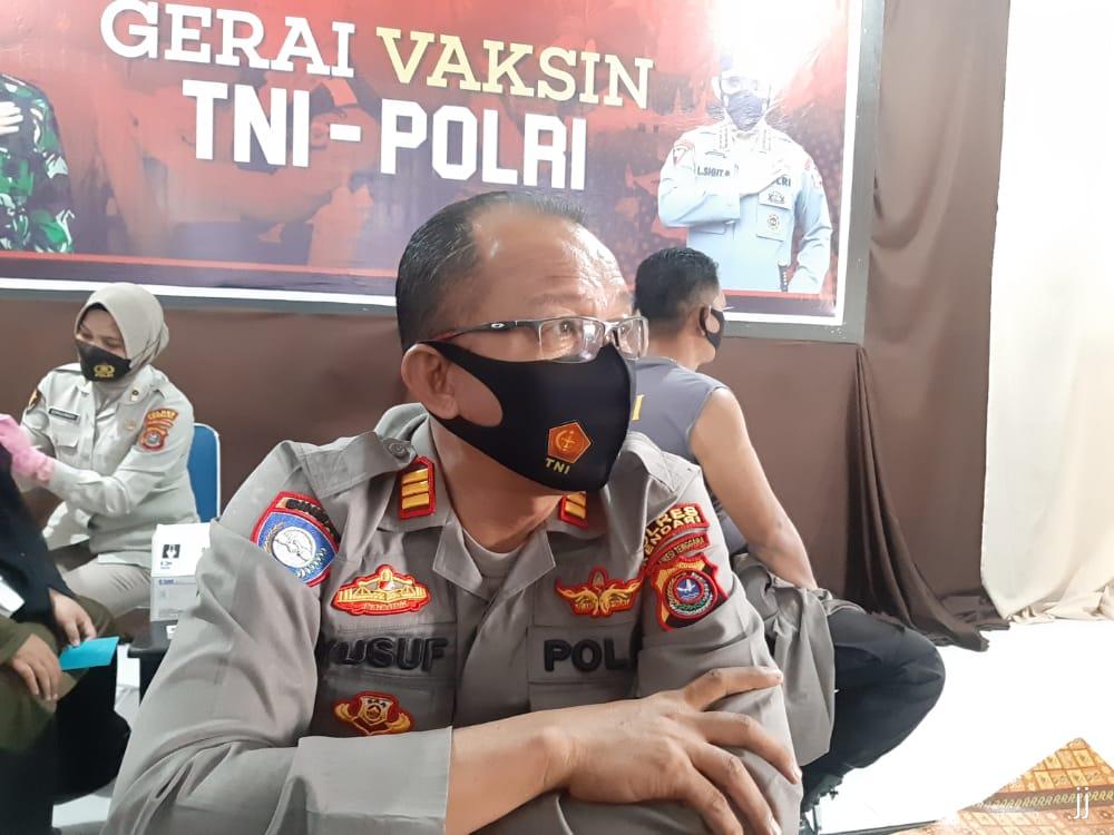 Kasat Binmas Polres Kendari, AKP Yusuf Tawang.