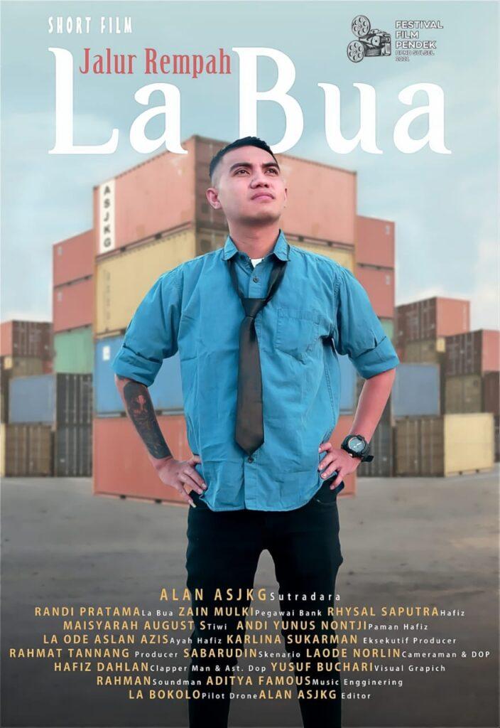 """Poster film """"Jalur Rempah La Bua""""."""