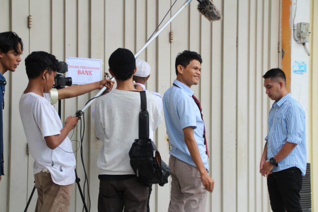 "Proses produksi film ""Jalur Rempah La Bua""."