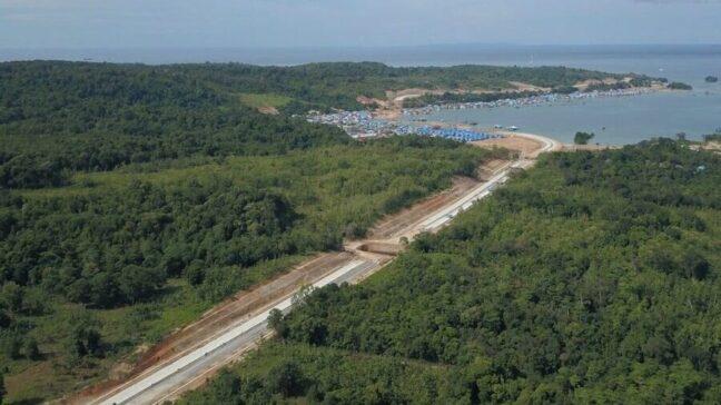 RAB Rp765 Miliar, Jalan Kendari – Toronipa Tahap 2 Rampung 2022