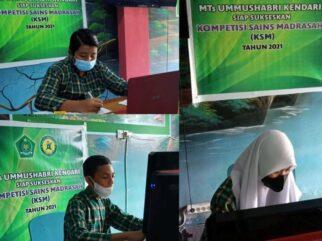 Selamat! MTs Pesri Juara Umum Kompetisi Sains Madrasah Kendari 2021