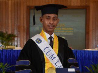 Pemuda Asal Pelosok Bombana Lulus S2 di UNY dengan IPK 3,99