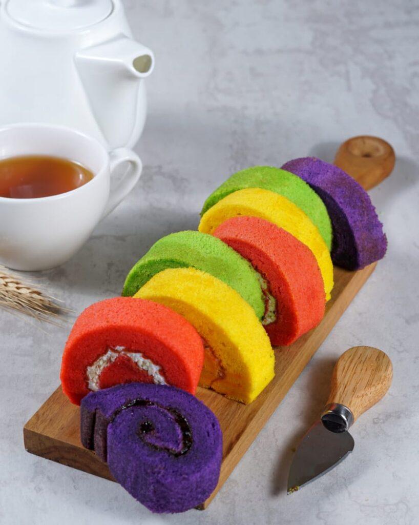 Kue bolu Asia Baru Cake & Bakery Kendari.