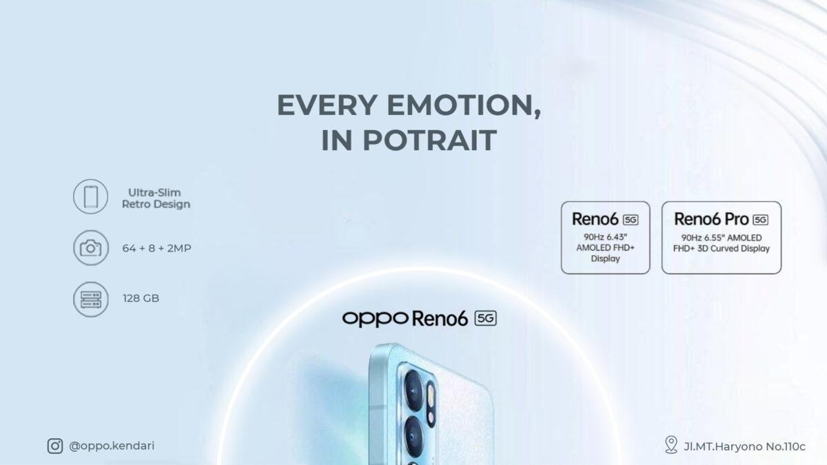 Oppo Reno6 5G Series, Rasakan Kehebatan 5G di Genggamanmu