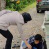 Bikin Salut, Seorang Bocah di Kendari Belajar Sambil Memulung