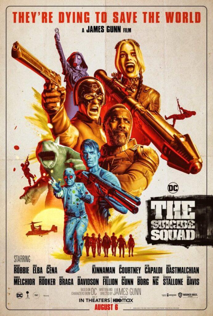 Poster film The Suicide Squad.