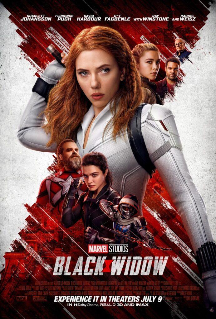 Poster film Black Widow.