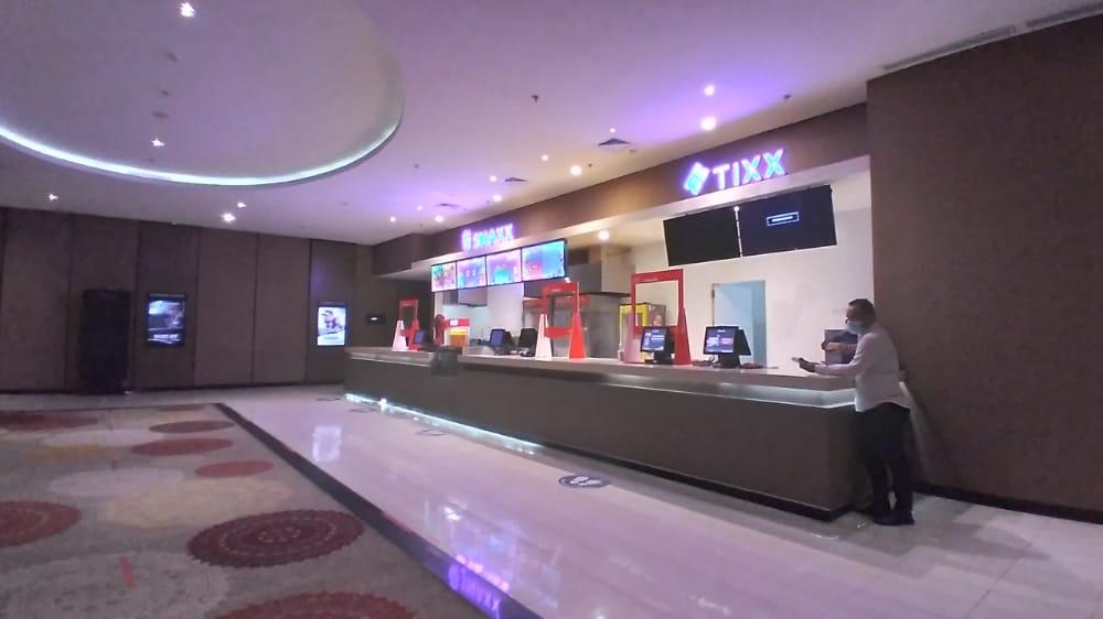 Loket Bioskop Cinepolis Lippo Plaza Kendari.