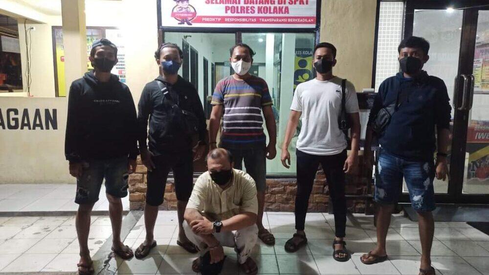 Polres Kolaka Bekuk Pencuri Ikan 50 Kg di Pasar Raya Mekongga
