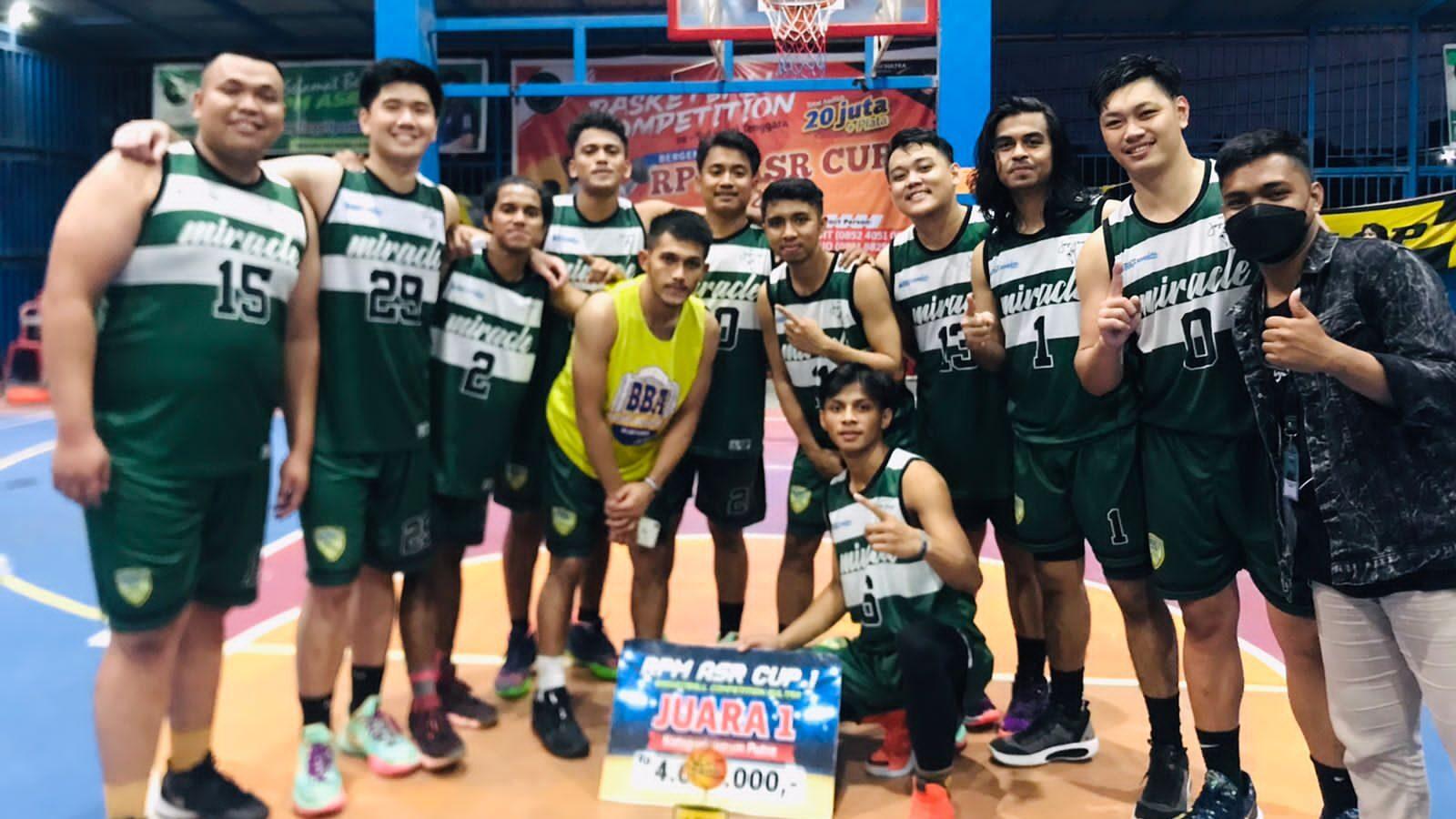 Taklukan Tuan Rumah, Tim Basket Baubau Juara 1 Tingkat Sultra