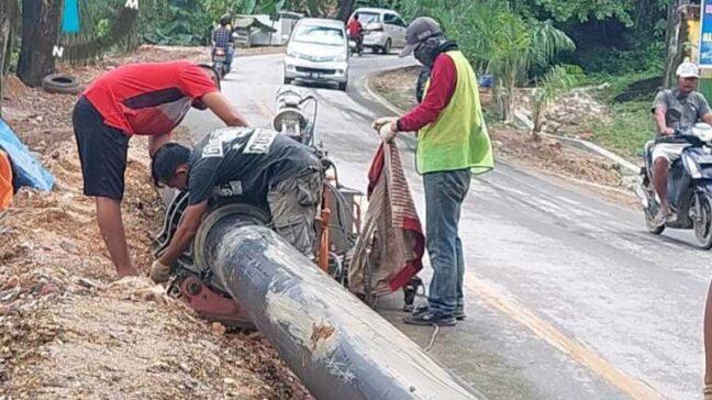 Pompa Air PDAM Tirta Anoa Rusak, 6 Kecamatan di Kendari Terganggu