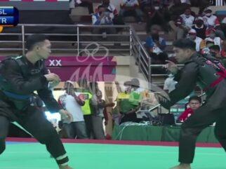 Pesilat Sultra Hadapi Peraih Emas Asian Games di Semifinal PON XX Papua
