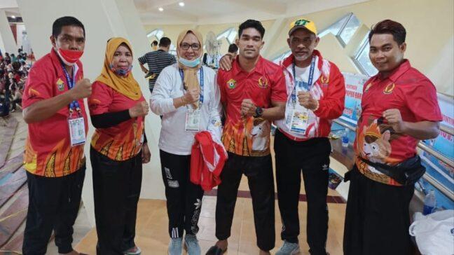 Takluk dari Peraih Emas Asian Games, Pesilat Sultra Raih Perunggu PON XX
